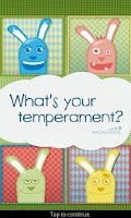 Screenshot of What is your temperament?