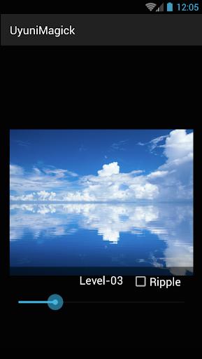 Uyuni Magick - ウユニ塩湖的水面加工