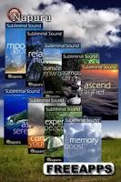 Screenshot of Relaxing Night Brain Massage