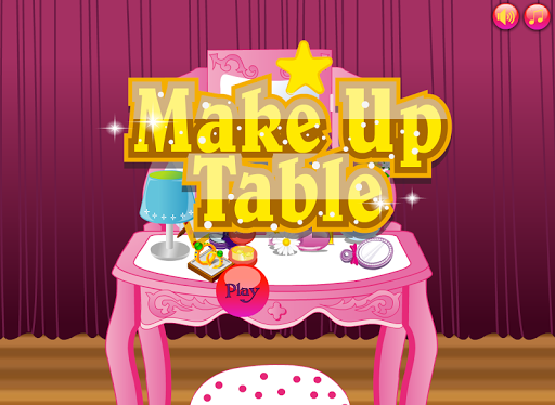 Simply Makeup Table