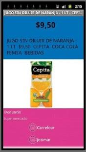 Precios Cuidados - NO OFICIAL - screenshot thumbnail