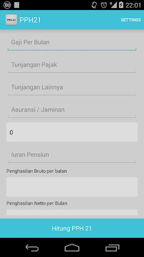 【免費財經App】Pph 21 Kalkulator-APP點子
