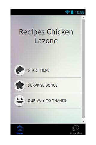 Free Recipe Chicken Lazone