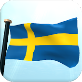 Sweden Flag 3D Free Wallpaper