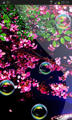 Sakura Flower n Bubbles HD
