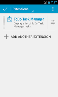DashClock - ToDo Task Manager- screenshot thumbnail