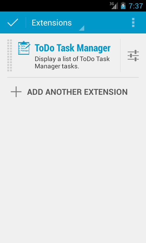 DashClock - ToDo Task Manager- screenshot