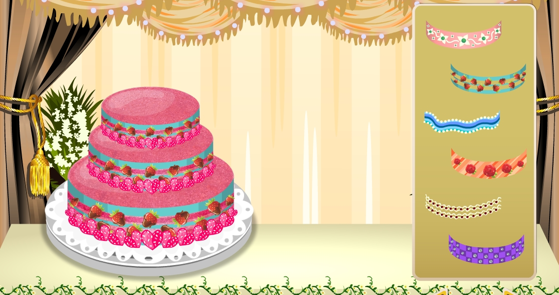 Wedding cake maker girl game android apps on google play