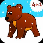 Kids ABC animal Zoo games 2