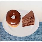 Cake Doughnut Falling Game icon