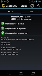 Symantec Mobile Management- screenshot thumbnail