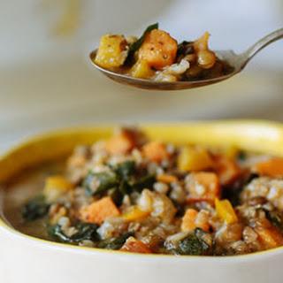 Sweet Potato, Kale & Lentil Stew