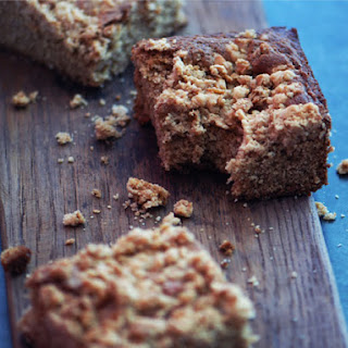 Peanut Butter Granola Snack Cake