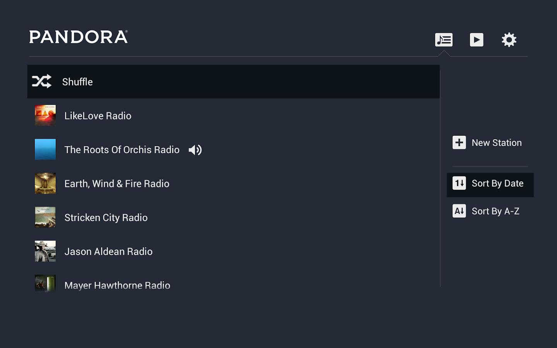 play pandora on home stereo