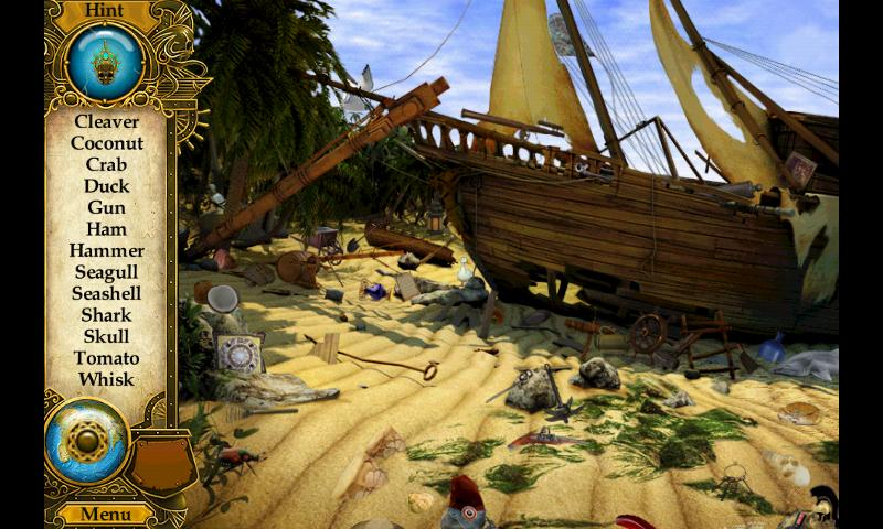 Pirate Mysteries Hidden Object - screenshot