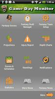 Screenshot of Fantasy Football Monitor 4 NFL