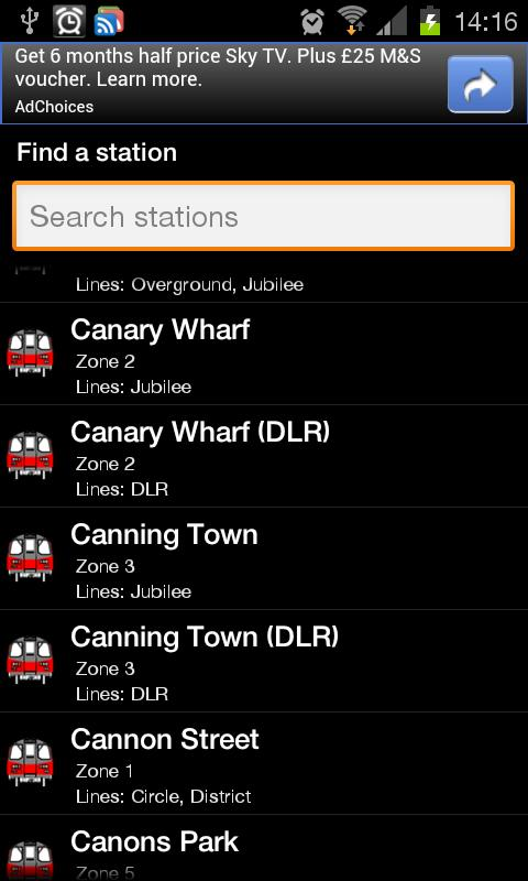 London Tube And Bus - screenshot
