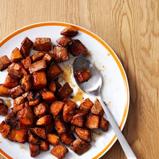 Maple- Chipotle Sweet Potatoes