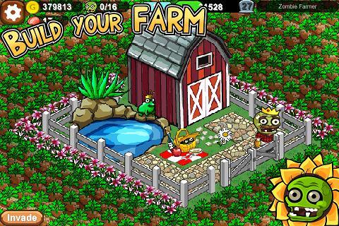 ombie Farm - увлекательная бесплатная игра на Android