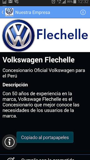 Volkswagen Flechelle Perú