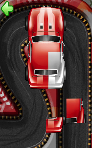 Car puzzle for toddlers HD