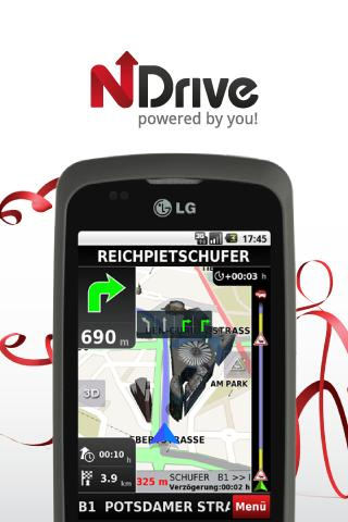 NDrive Brazil - screenshot