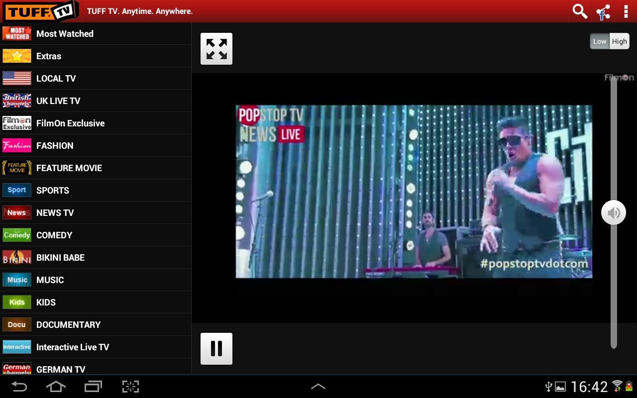 FilmOn TV Chromecast & DLNA