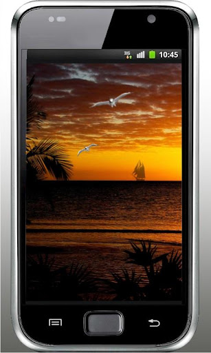 Sunset Oceanic live wallpaper