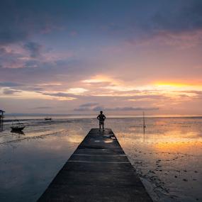 A Moment of Silence by Robertho Ponomban - Landscapes Sunsets & Sunrises