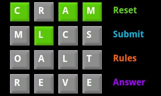 Word Matrix- screenshot thumbnail