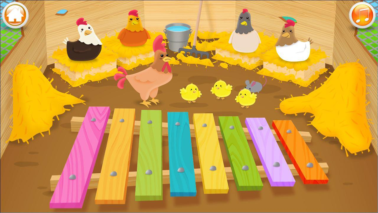 Baby musical instruments- screenshot