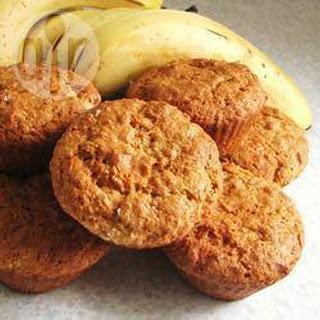 Wholemeal Banana Muffins.