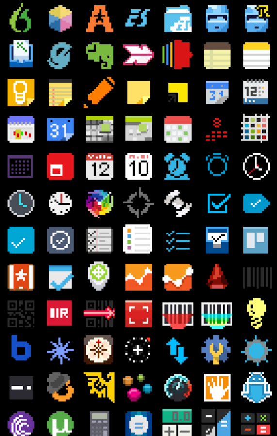 8 Bit Icon Theme Android Apps On Google Play