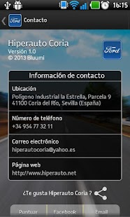 Hiperauto Coria - screenshot thumbnail
