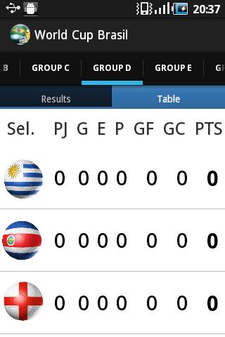 【免費運動App】World Cup Brasil Results-APP點子