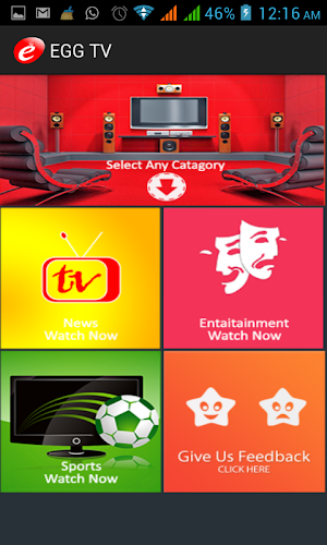 Egg TV 1.0.2   app screenshot