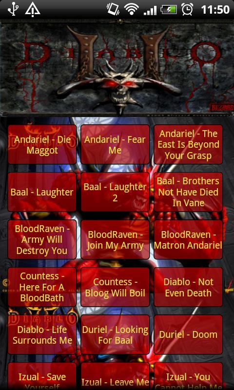 Diablo 2 Soundboard Complete - screenshot
