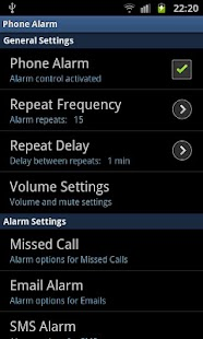 phoneAlarm - screenshot thumbnail