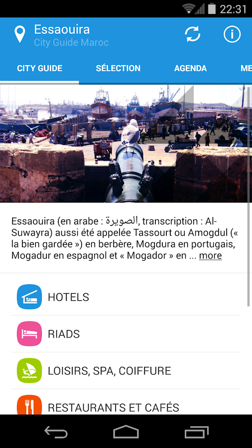 City Guide Morocco Essaouira- screenshot