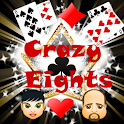 Crazy eights Bil icon