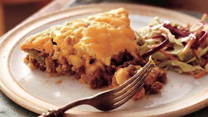 Impossibly Easy Barbecue Beef Pie Recipe
