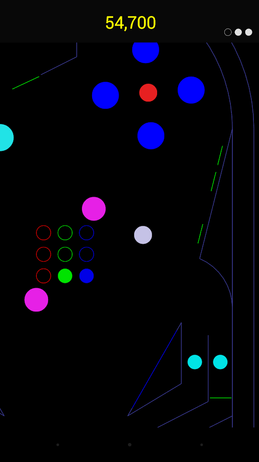 Vector Pinball- screenshot