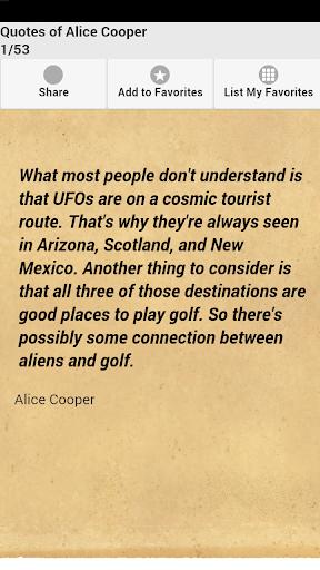 Quotes of Alice Cooper