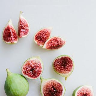 Fig and Melon Salad with Creamy Lemon Vinaigrette.