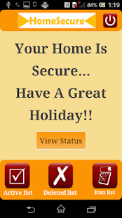 HomeSecure- screenshot thumbnail