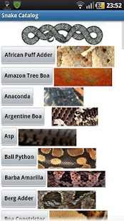 Snake Catalog FREE- screenshot thumbnail