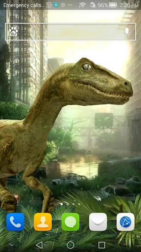 Dinosaur Free Live Wallpaper
