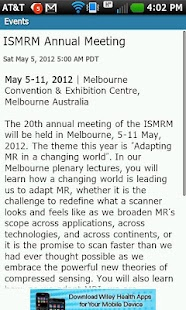 ISMRM Journals - screenshot thumbnail
