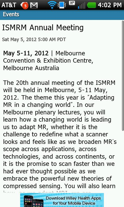 ISMRM Journals - screenshot