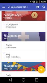 Today Calendar Screenshot 4
